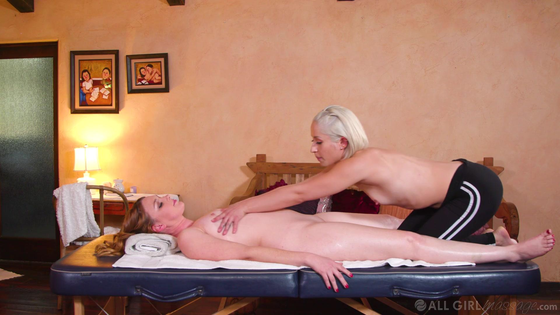 All Girl Massage – Marie Mccray And Goldie Glock Tricking My New Step-Mom